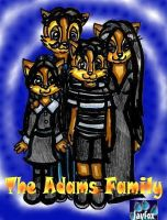 The Adams Family by jayfoxfire