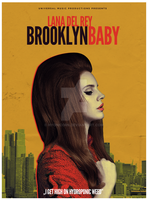 Lana Del Rey - Brooklyn Baby by Hyonicorn