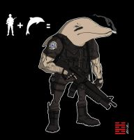 Dolphin-human Hybrid Super Soldier by thesometimers