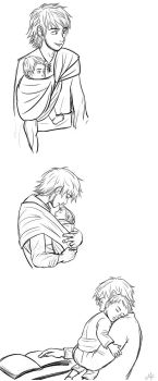 Daddy hiccup by Mikki05