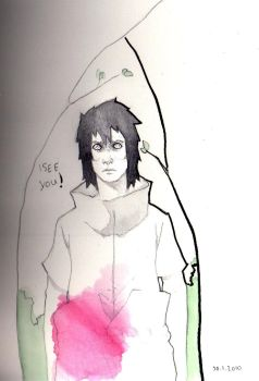 Sasuke Sketch by Harvest-ink