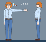 Jose Reference sheet (Updated) by Guidorius