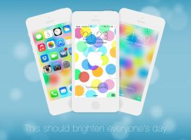 Bright - Wallpaper for iPhone 5/4S by BesQ
