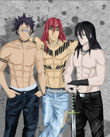 Bleach Boys by heyohwhoa