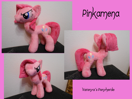 Pinkamena Plush - MLP by Varonya