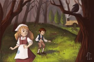 Hansel and Gretel by AlyssaTallent