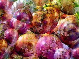 Rainbow Bubbles by Thelma1