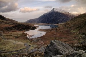 Llyn Idwal from above by CharmingPhotography