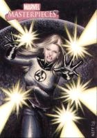 Invisible Woman AP Sketch Card by artofneff