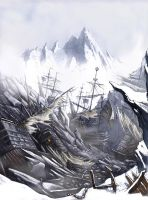 Mountains of lost Ships by JohnMcCambridge