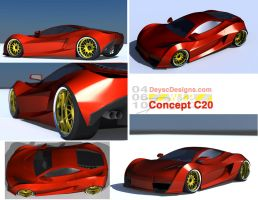 Concept C20 WIP by Dannychhang