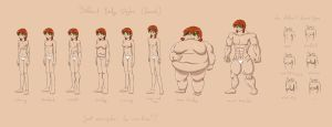 Different Body Styles -female- by Tobsen85