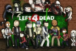 Left 4 Dead Group by Fisukenka