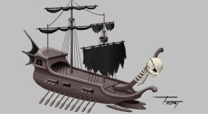 Pirate Ship by C-frost