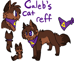 Caleb cat reff by Freckled-Kat