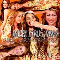Pack PNG  Miley Cyrus KCA'11 by StephHart