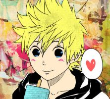 Roxas :p by Poulpy-chan