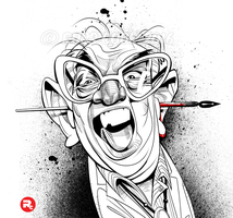 Ralph Steadman by RussCook