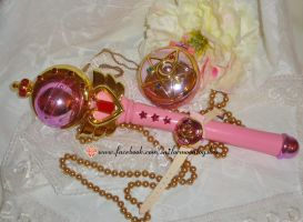 Sailor Moon R rpg toys by Bunnymoon-Cosplay
