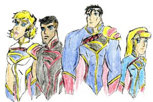 Team Krypton 2.0 Colored by SplendorEnt