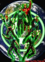 Green Lanterns Corps Earth 3 by Spidey-Portilla