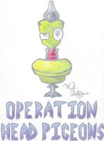 Operation Head Pigeons by HNAutumn