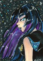 ACEO Sailor Messier 107 for snow-princess by nickyflamingo