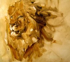 lion by alrasyid