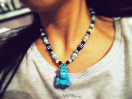 Sulley Necklace by Cateaclysmic