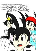 Animaniacs Comic Cover test by Dolltwins