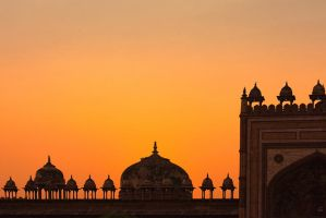 Indian Sunset by Stilfoto