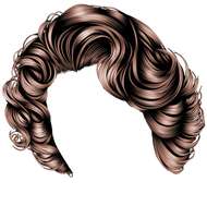 Short Brown Curls by hellonlegs