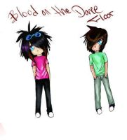Blood on the dance floor by Clayton-BOTDF