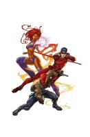 Red Hood and the Outlaws 0 cover by BlondTheColorist