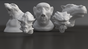 Sculpt Collection 2 by JesperHarming