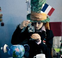 Hatter in France by LaynesLionRedCat