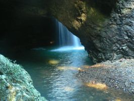 Natural Arch, Gold Coast 01 by Scapes-club