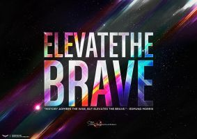Elevate The Brave by Husam-Elfaki