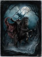 Sleepy Hollow - Headless Horseman by Lovell-Art