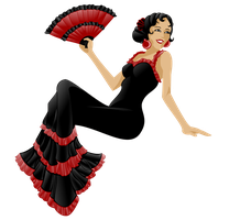 Flamenco Dancer 2 by SarembaArt