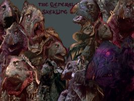 Skeksis Wallpaper 8. SkekUng by queenmoreta