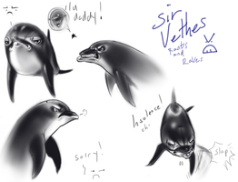 Sir Vethes: Rants and Raves by AuldBlue