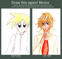Draw This Again Meme by hikizuu