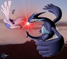 Lugia Duel by Juptile
