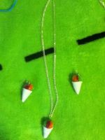 Snow Cone Jewerly Set by invaderjade1