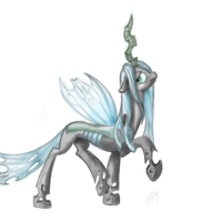 Chrysalis is the best pony by BanShee42Ru