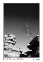 Brimham Rocks AA  rld 01 B and W dasm by richardldixon