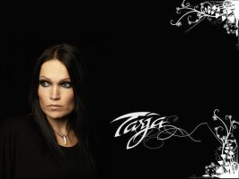 tarja wallpaper. by LadyMoondance