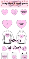 For Sale| Pastel Heart Quotes by Pocky-Babe