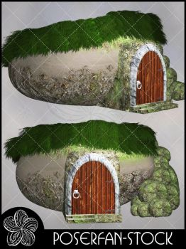 Fairy Burrow House by poserfan-stock